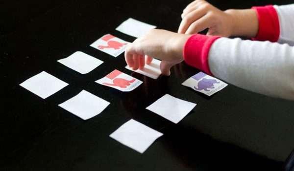 نشاط لعبة الذاكرة