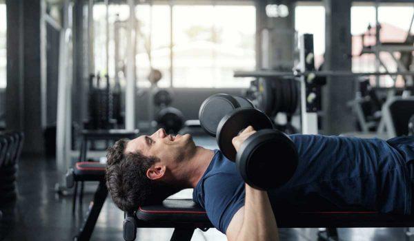 تمارين الدمبلز للصدر