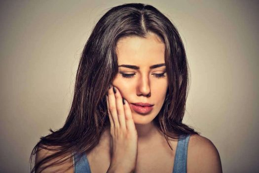 علاج التهاب اللثة في المنزل