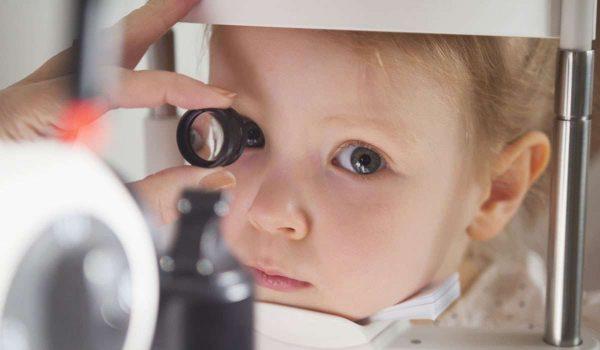 ضعف العصب البصري عند الاطفال